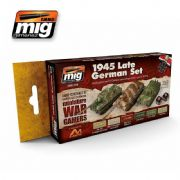 WARGAME 1945 LATE GERMAN SET<br> A.MIG-7118